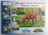 Farm Animals And Young Set of 8