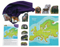 Animals And Their Continents: Europe