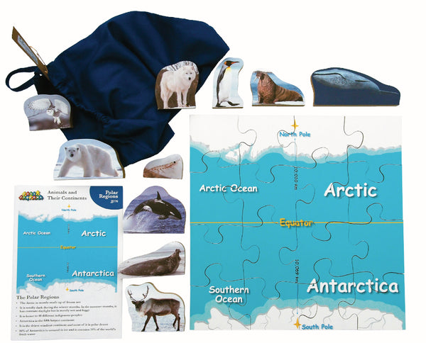 Animals And Their Continents: Polar Regions