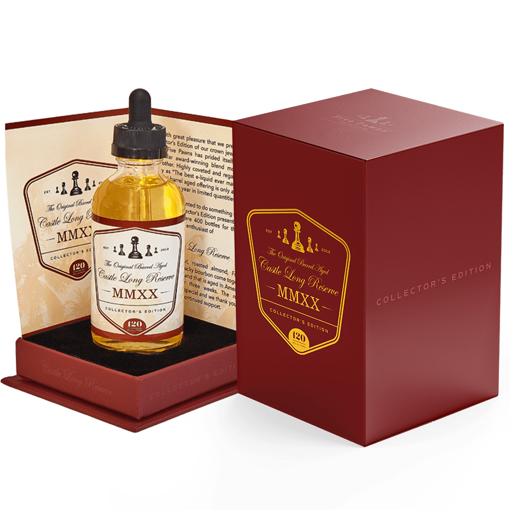 Castle Long Reserve 120mL Collector's Edition