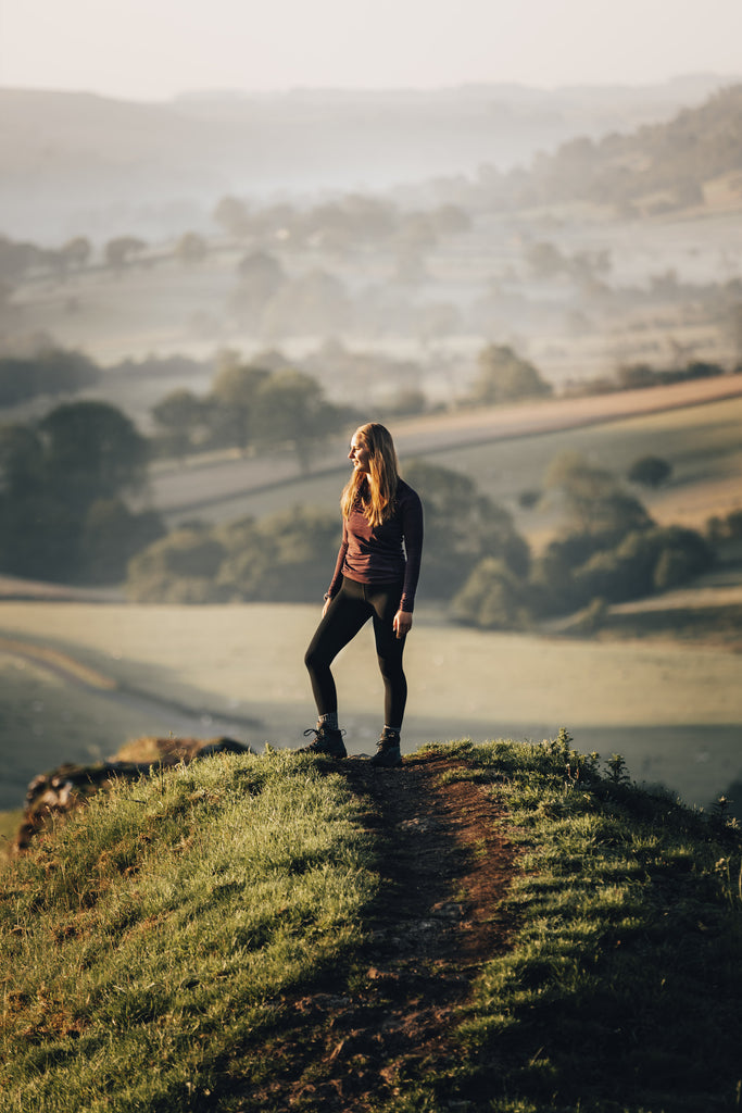 Standing on Chrome Hill