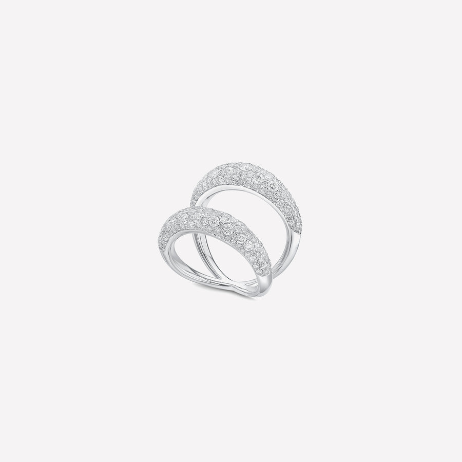 Ring Endless Love Wide Diamond