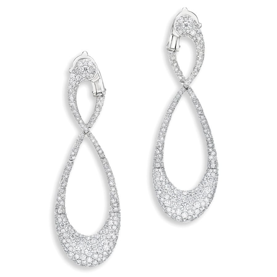 Earrings Endless Love Diamond