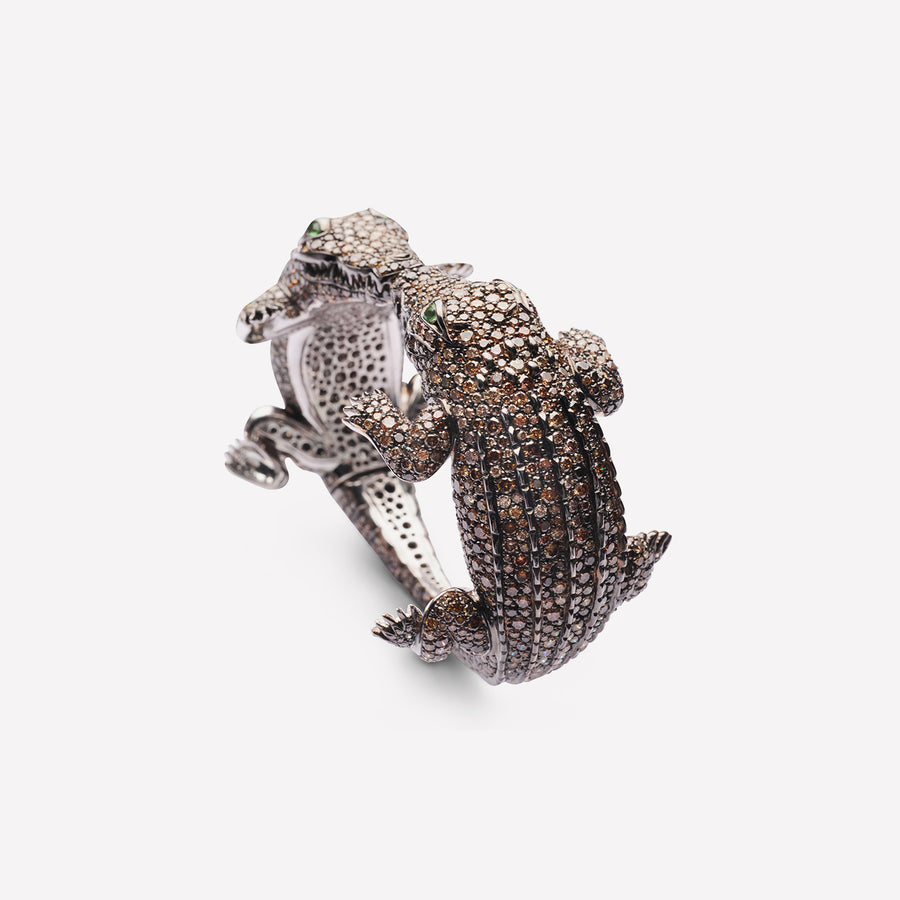 Bangle Kissing Crocodiles