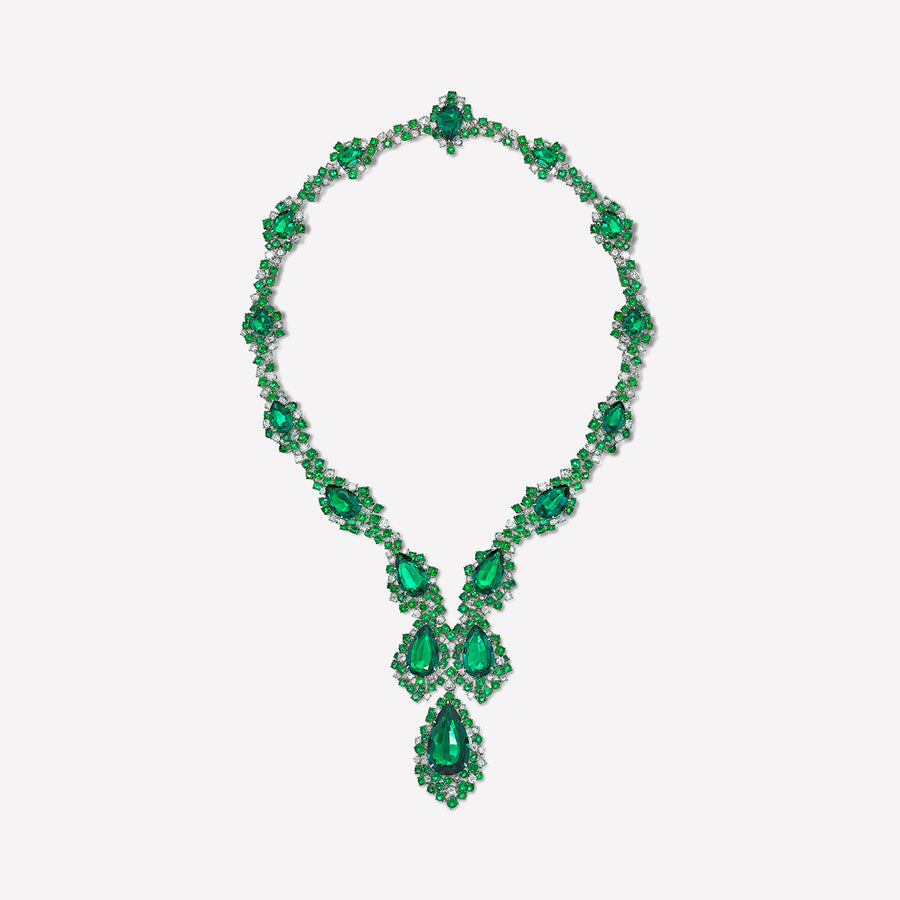 Necklace Green Suite
