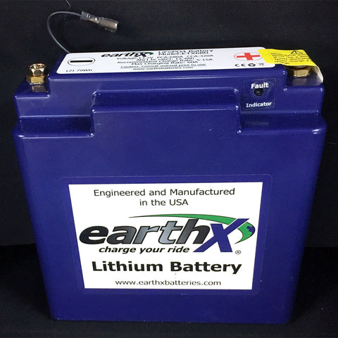 Battery - lightweight Lithium EarthX
