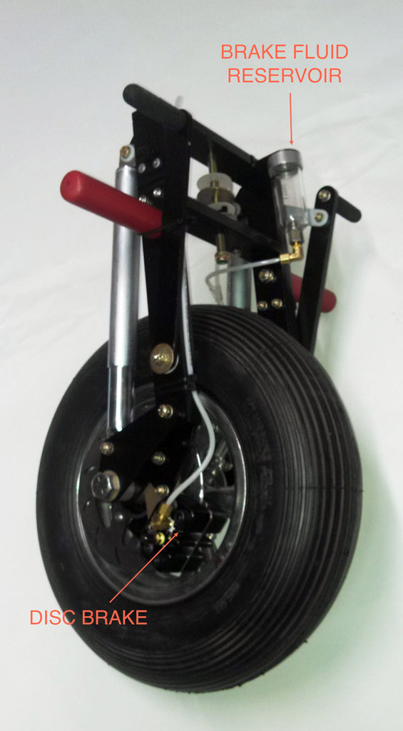Front Fork Assembly for Light Sport Aircraft & Trikes