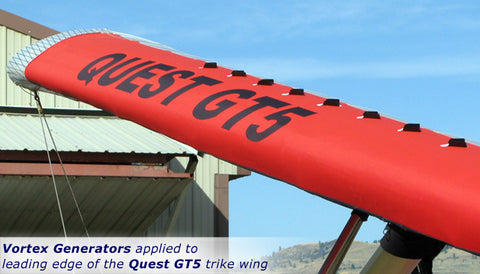 Vortex Generators Kit for the Quest GT5 and Quest GT4 Wings