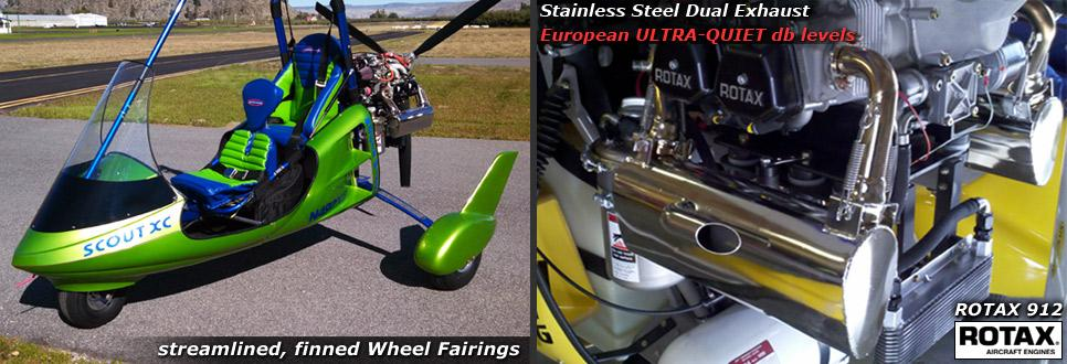 Wheel Fairings for Light Sport Aircraft and Ultralight Trikes