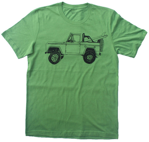 Bronco Surf Trip Leaf Green - Paulville Goods  - 1