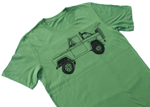Bronco Surf Trip Leaf Green - Paulville Goods  - 2