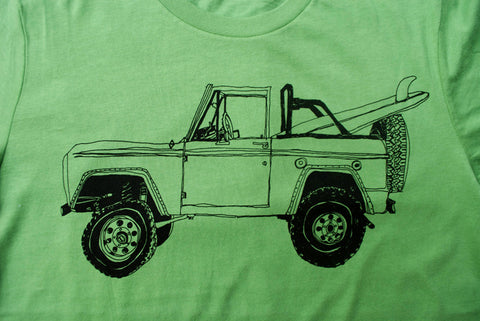 Bronco Surf Trip Leaf Green - Paulville Goods  - 4