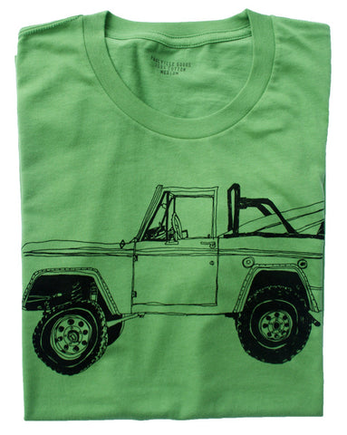 Bronco Surf Trip Leaf Green - Paulville Goods  - 6