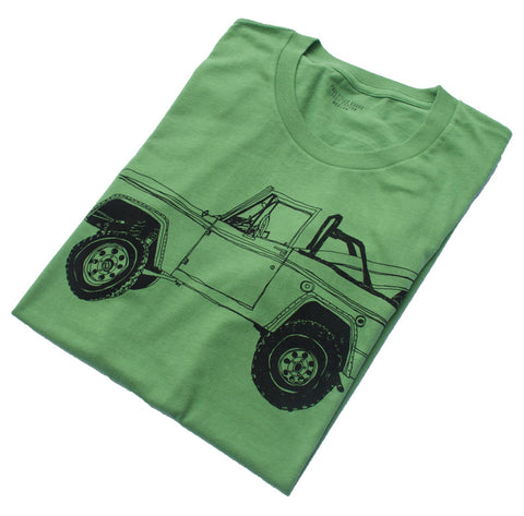 Bronco Surf Trip Leaf Green - Paulville Goods  - 7