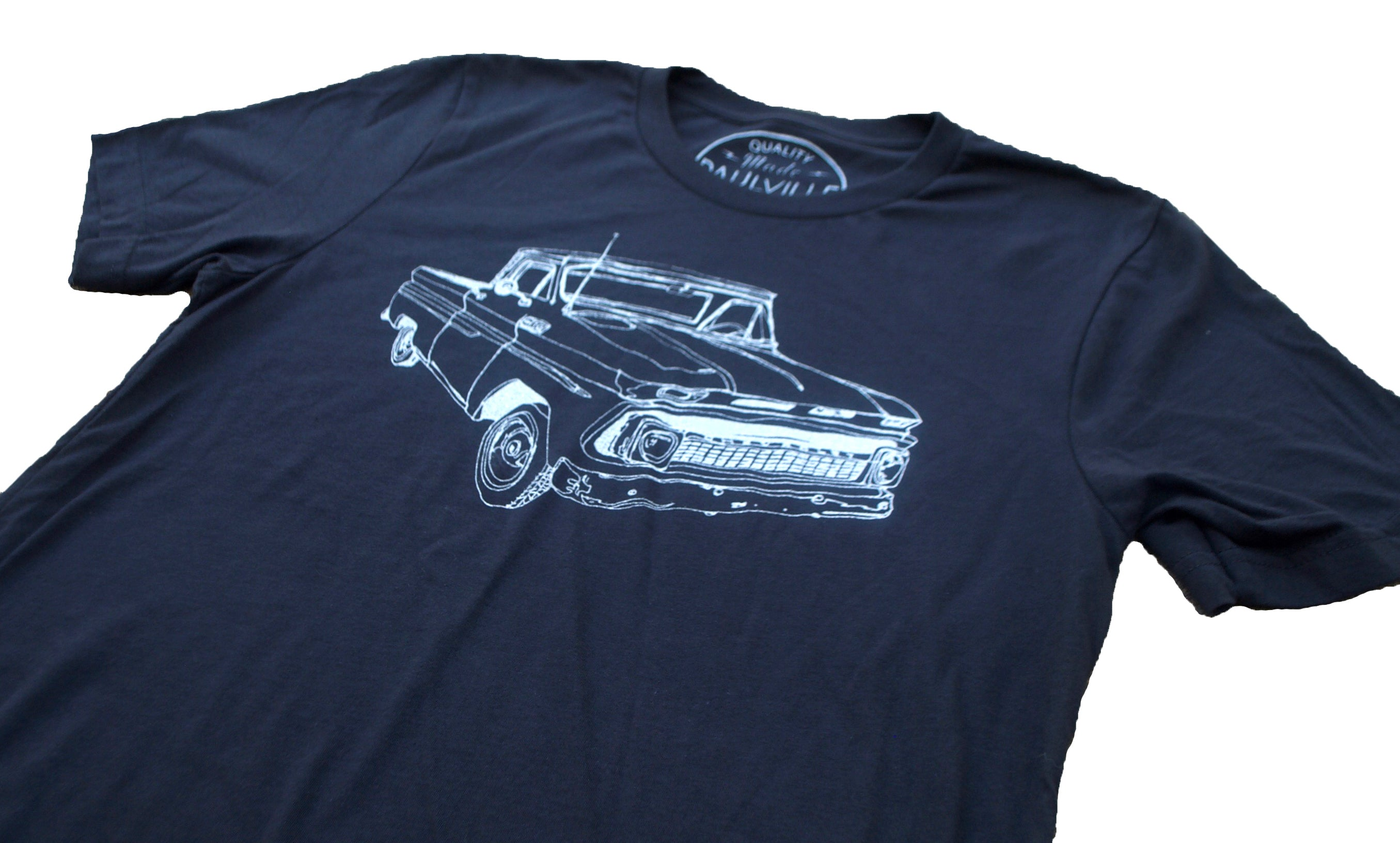 Old Chevy Truck Tee Soft Comfy Rad