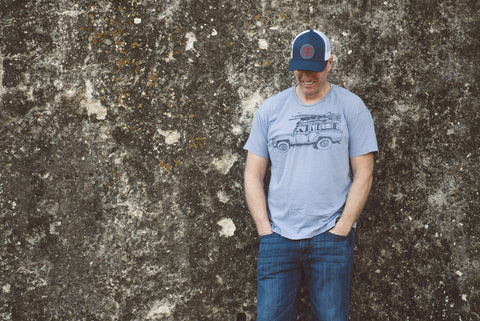 PVG Trucker Hat Navy - Paulville Goods  - 6