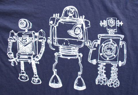 Robot Horizon Heather Black - Paulville Goods  - 2