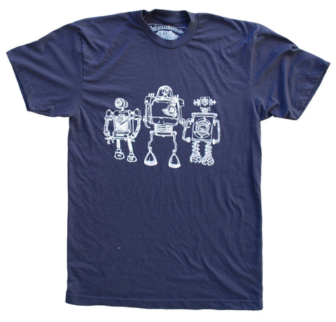 Robot Horizon Heather Black - Paulville Goods
