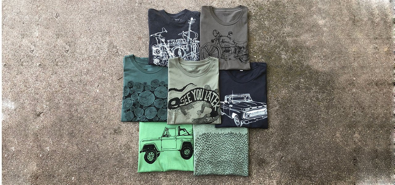 Men's Hand Draw Motorcycle T Shirts - Custom Top Fashion 2019 - Paulvillegoods.com