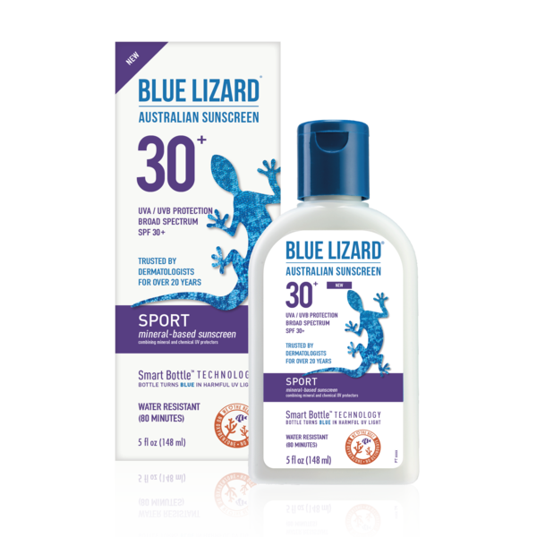 Blue Lizard Sport Mineral-Based Sunscreen SPF 30+