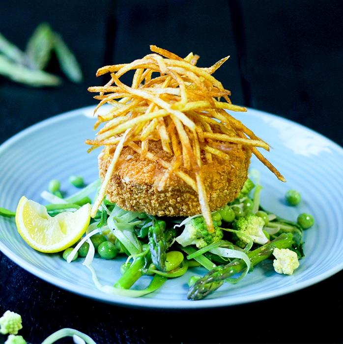 Cod & Asparagus Fishcakes - S&J Fisheries