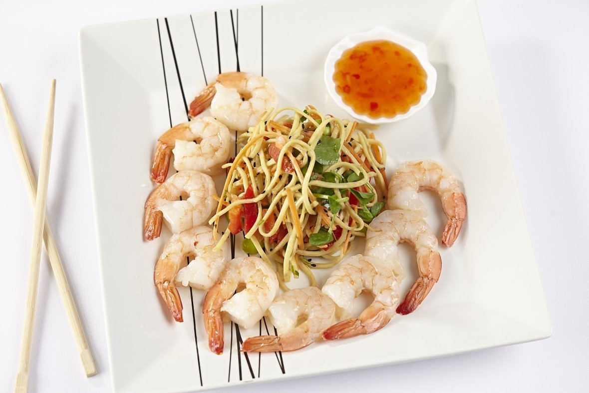 Cooked Tiger Prawns - S&J Fisheries