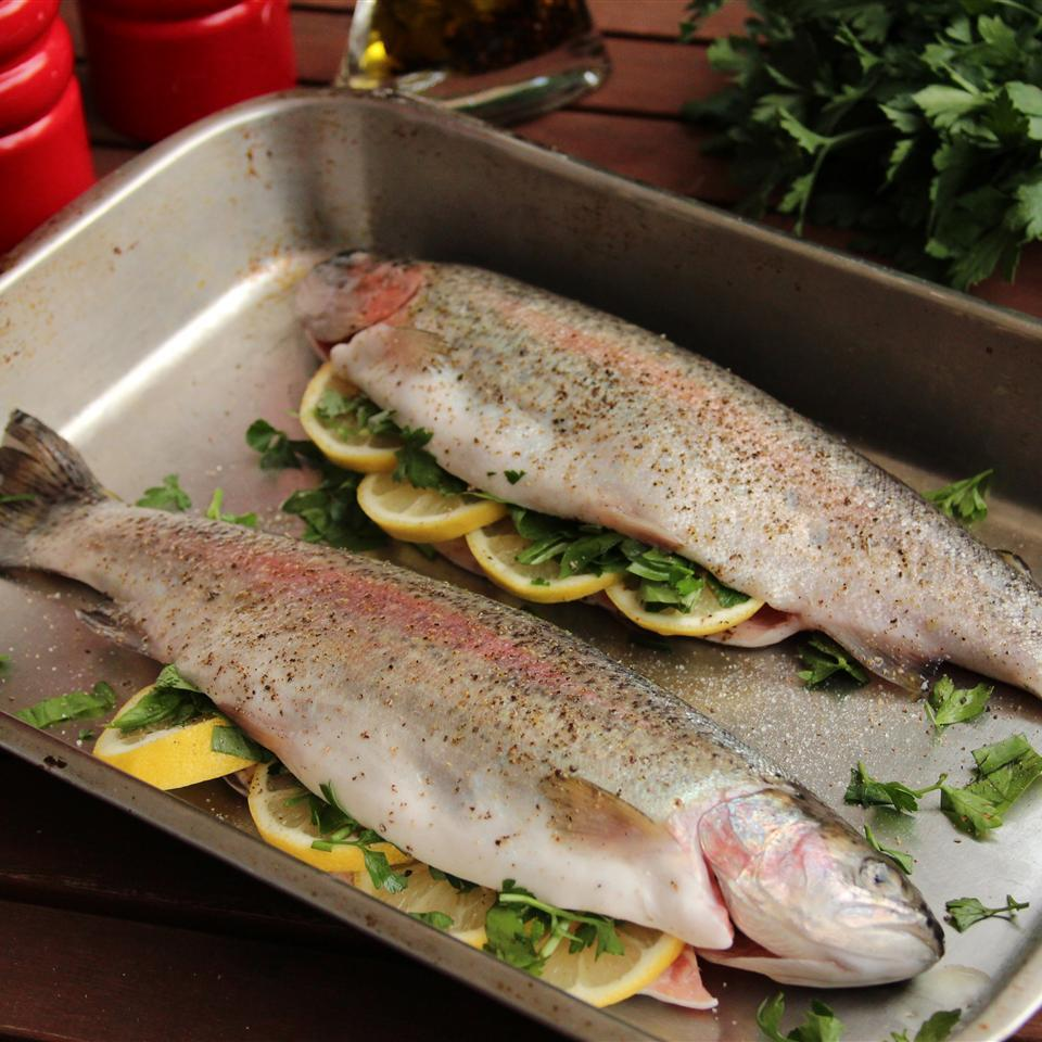 Fresh Rainbow Trout (1no) - S&J Fisheries