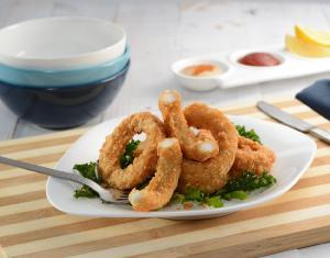 Hand-Cut Panko Squid Rings - S&J Fisheries