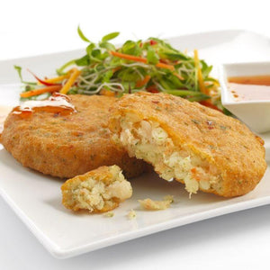 Thai Style Cod & Prawn Fishcakes - S&J Fisheries