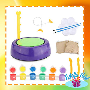 Kid's Pottery Wheel Kit