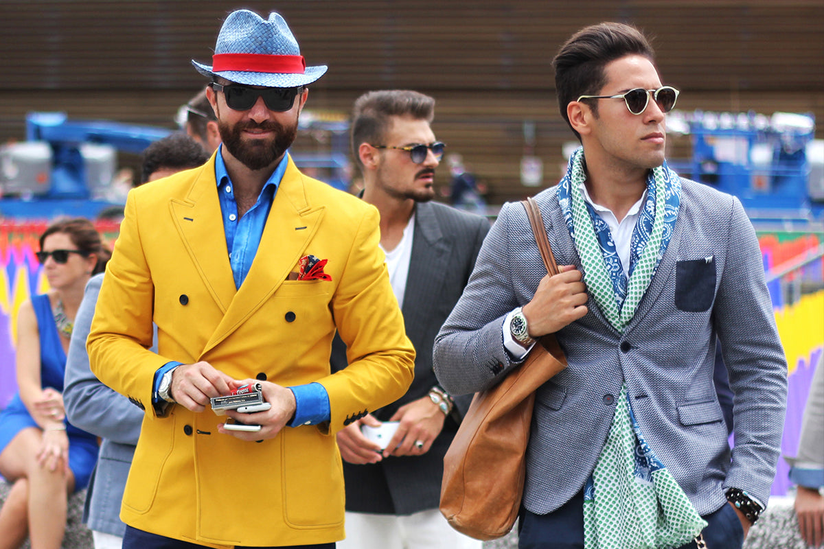 a guide to men's style
