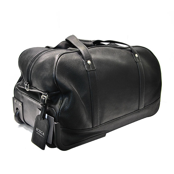 Duffle Bag with Wheels - Black