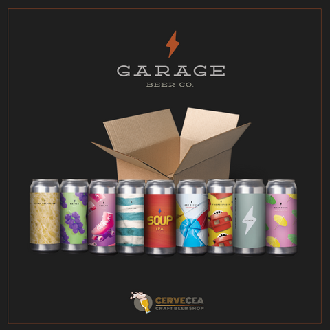 GARAGE BEER PACK - 9 LATAS de 44cl.