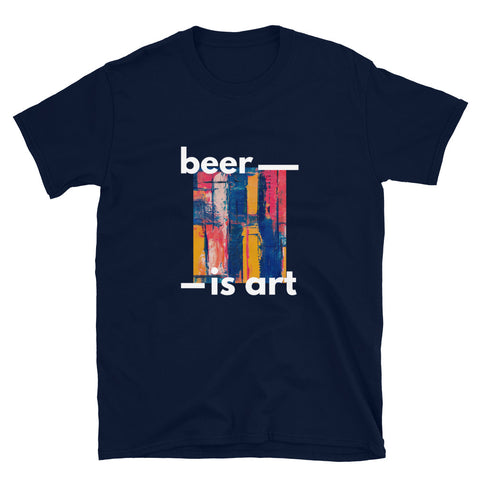 Camiseta unisex BEER IS ART