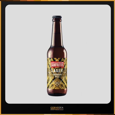 Sanfrutos Lager  - Botella 33cl