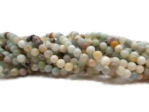 Amazonite - Perles de 6 mm - Fil de 38 cm