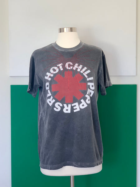Vintage Red Hot Chili Peppers Tee-shirt adorned by Jen Wonders