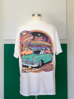 Vintage Mel's Diner Tee-shirt adorned by Jen Wonders