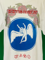 Vintage Led Zeppelin T-shirt adorned by Jen Wonders