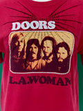 Vintage The Doors T-shirt adorned by Jen Wonders