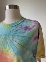 Vintage Tie Dye Tee shirt adorned by Jen Wonders