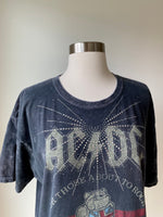 Vintage Rock band Tee shirt adorned by Jen Wonders