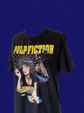 Vintage Pulp Fiction Tee-shirt adorned by Jen Wonders