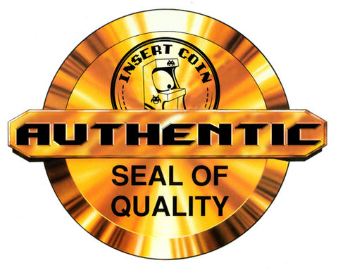 Insert Coin Authentic Seal Of Quality