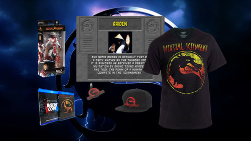 Mortal Kombat Fatality Bundle (Raiden)