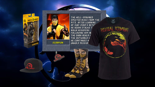 Mortal Kombat Fatality Bundle (Scorpion)
