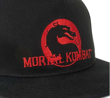 Load image into Gallery viewer, Mortal Kombat Klassic Logo Snapback Hat