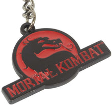 Load image into Gallery viewer, Mortal Kombat Klassic Logo Keychain