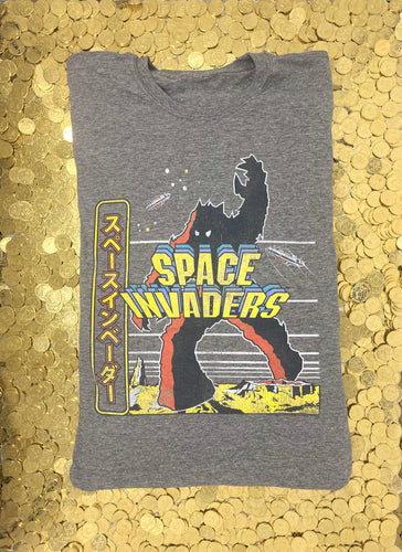 Space Invaders (Arcade Art) Japanese T-Shirt