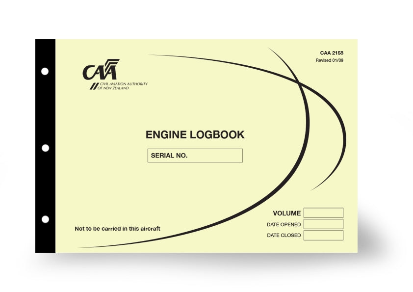 Engine Logbook CAA 2158